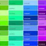 【資料】Web色見本/HTMLカラーコード
